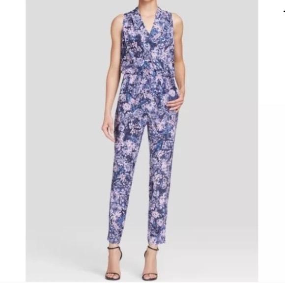 efb947e84c Rebecca Taylor Kiku Silk Jumpsuit Size 8. M 5bfa5b17f63eea6c292d099b